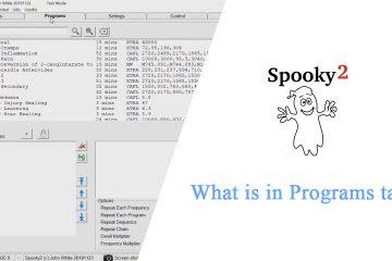 What is in Programs tab
